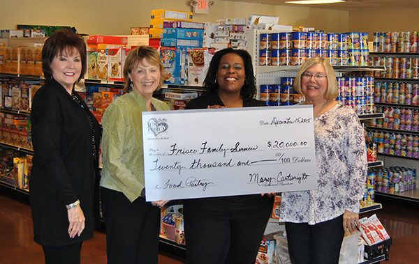 Thank you Dallas Junior Forum for your generous donation!
