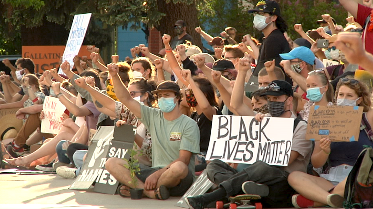 Thousands more show up for second peaceful protest in downtown Bozeman