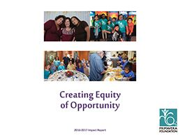 "Annual Impact Report - ""Creating Equity of Opportunity"""