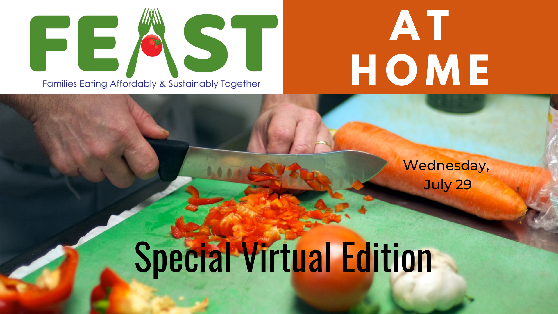 Virtual FEAST At Home Event July 29