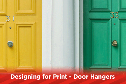 Designing for Print - Door Hangers