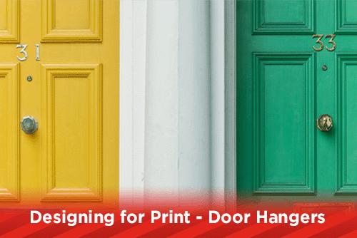 Designing for Print - Door Hangers