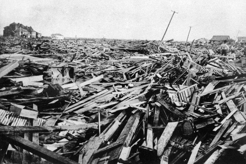 The Great Galveston Storm of 1900