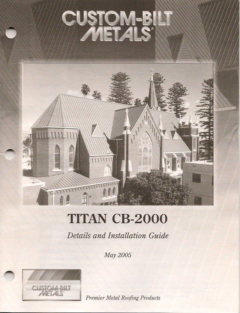 Details & Install Guides: CB-2000