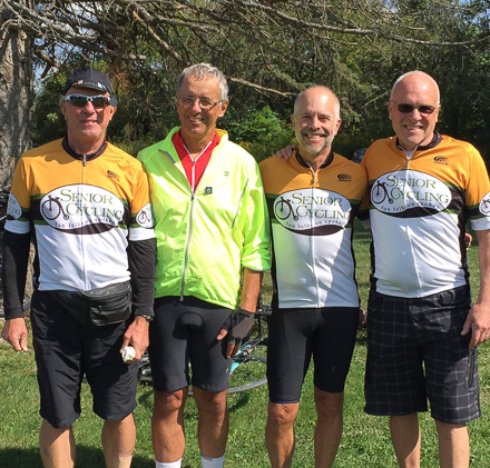 Senior Cycling is about making new friends!