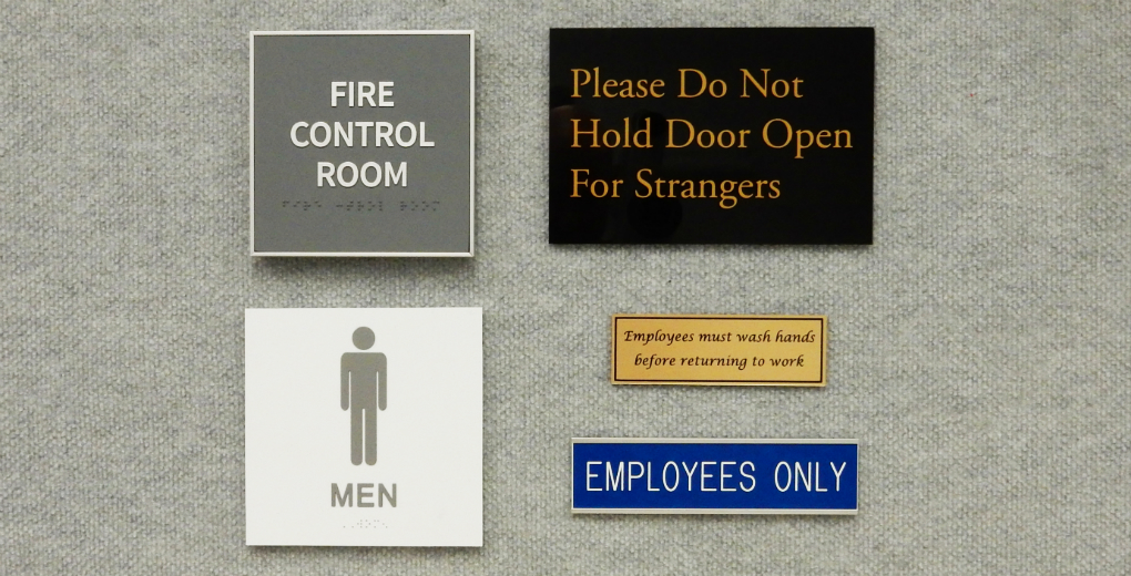Office Signs + ADA