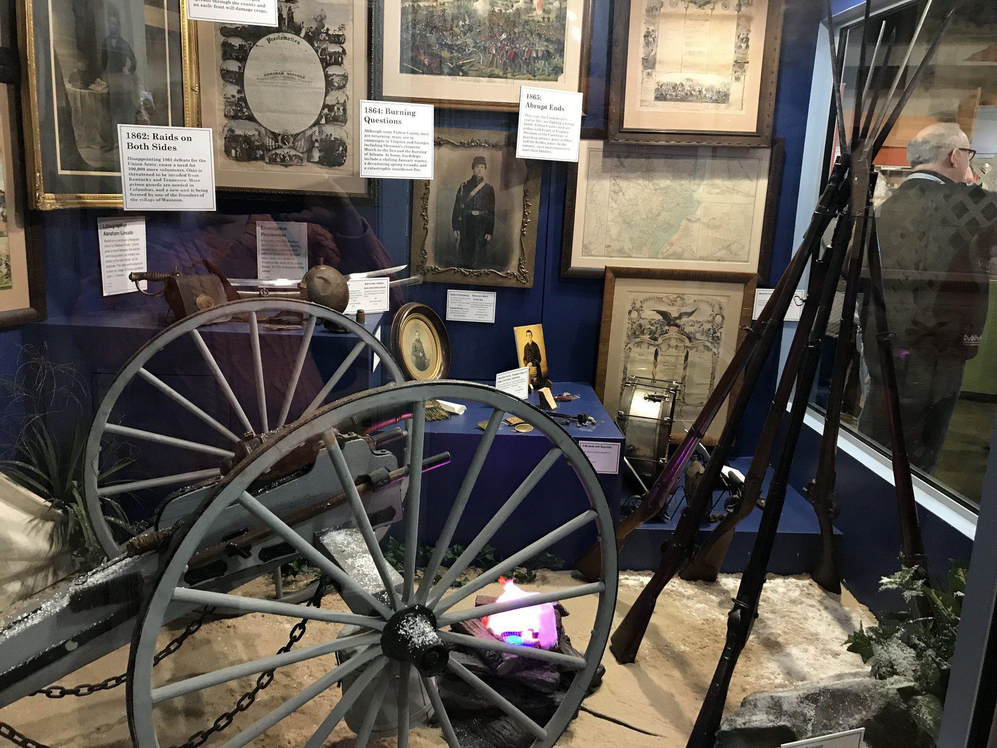 ...Civil War Display...