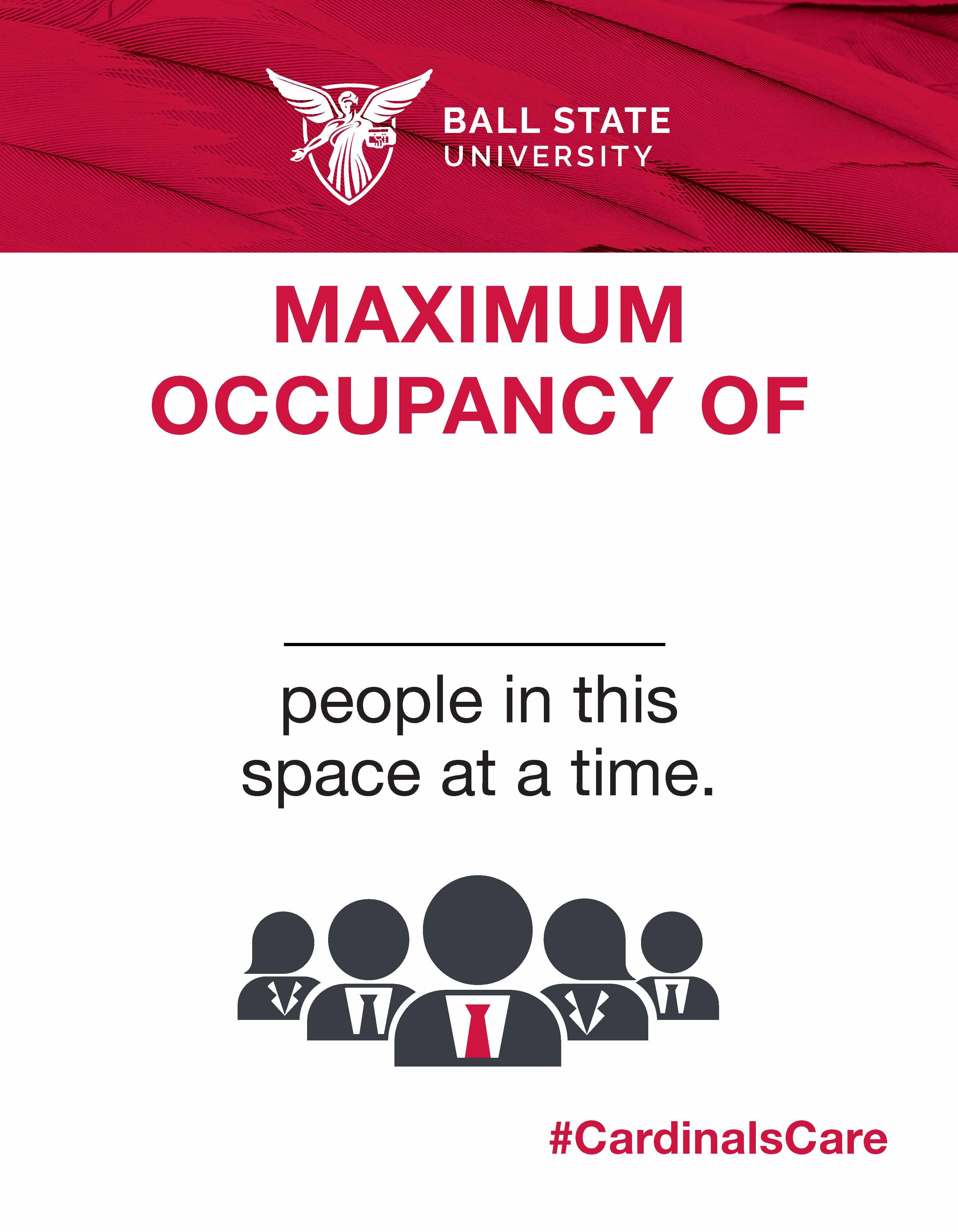 COVID-19 Signage – Maximum Occupancy Signs