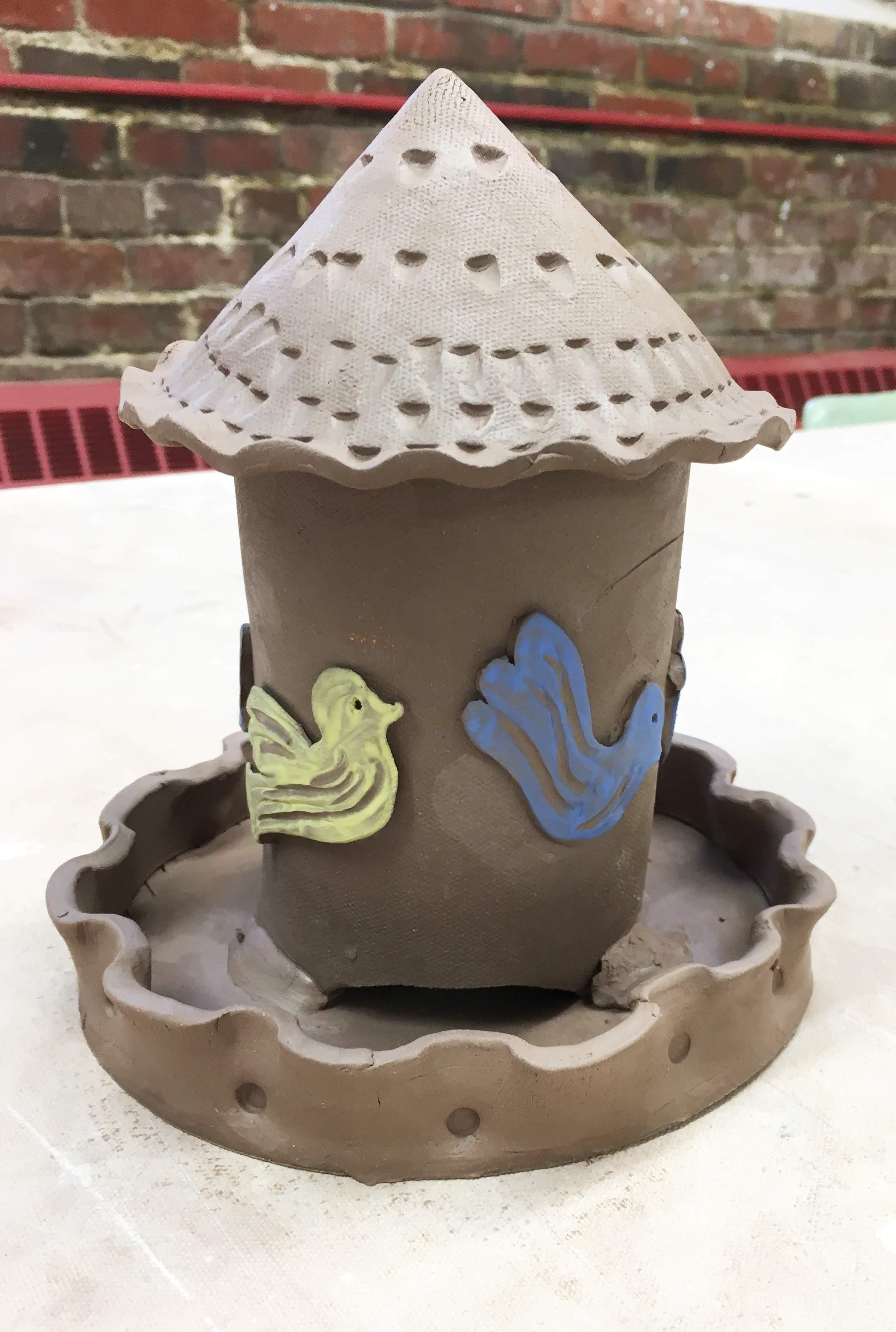 Bird Feeder Clay Workshop