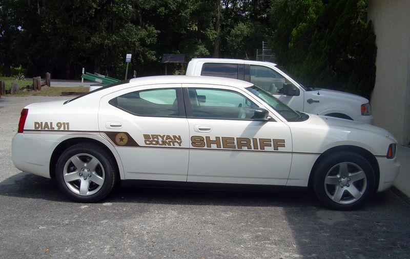 Sheriff's Car-White