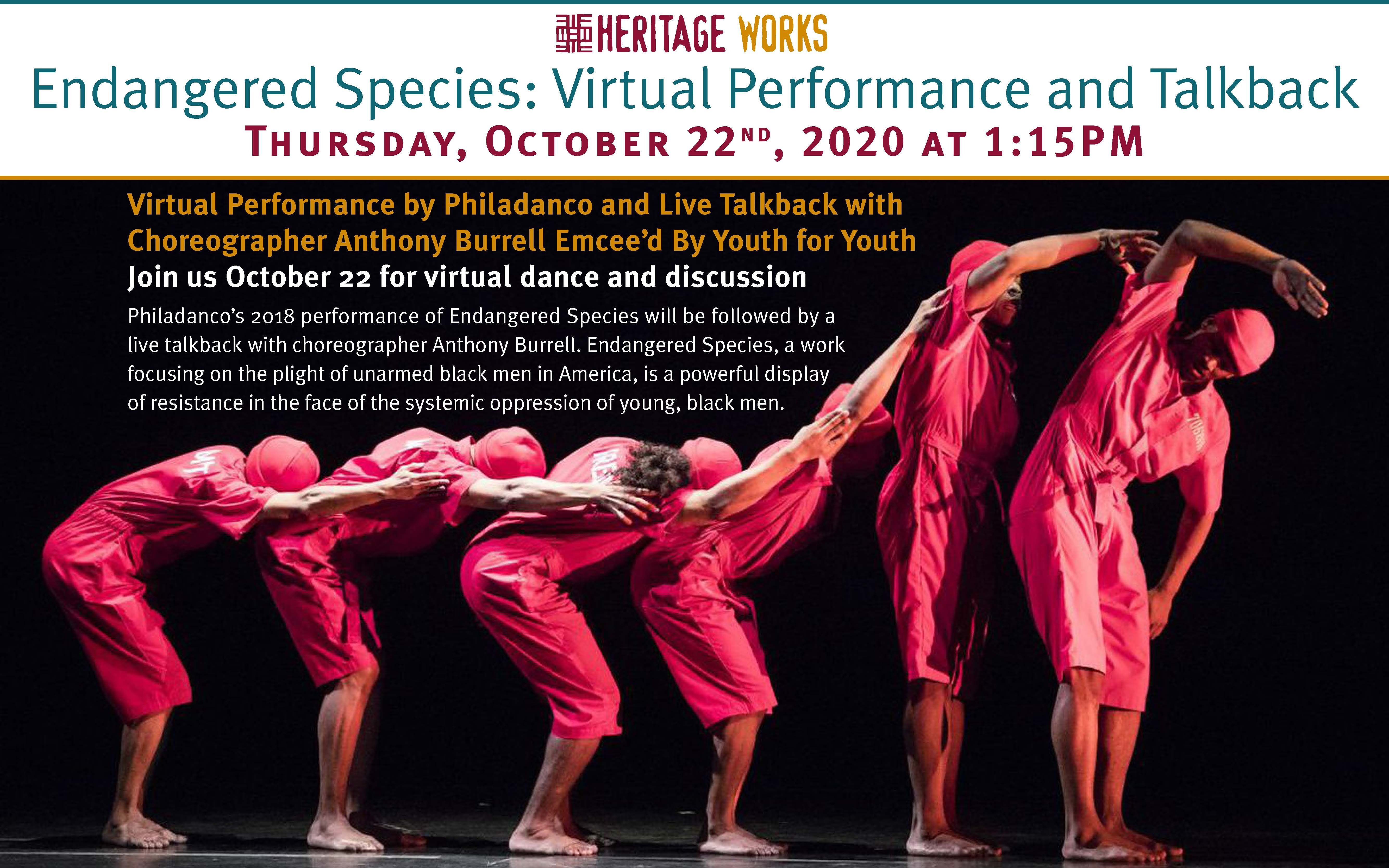 Endangered Species Virtual Performance
