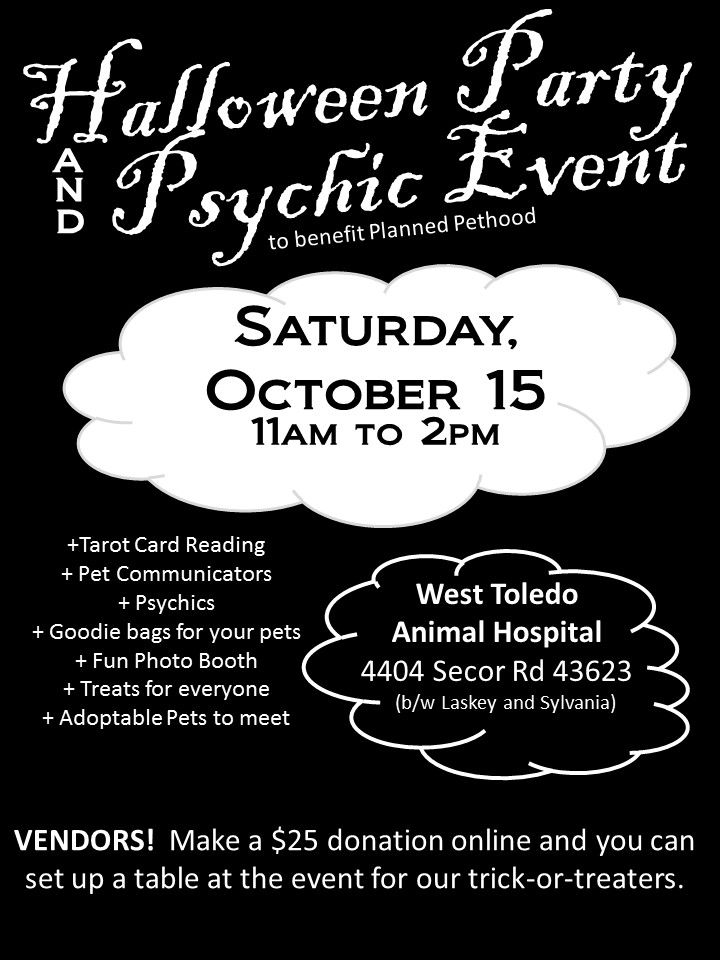 Halloween & Psychic Event