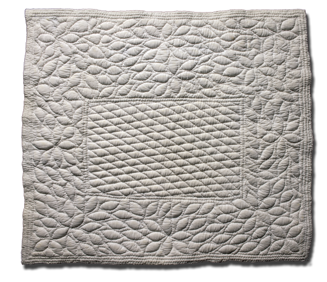 Small cover, maker unknown, made in Provence, France, circa 1900-1920, 36 x 32.5 in, IQSCM 2006.028.0001