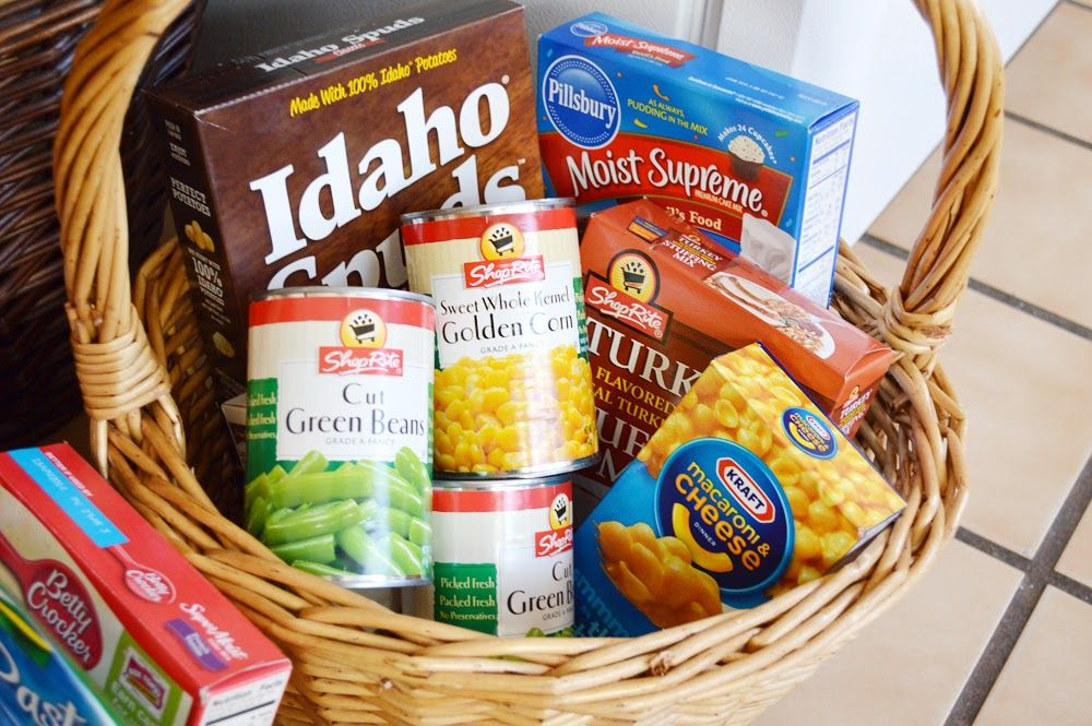 November - Thanksgiving Baskets