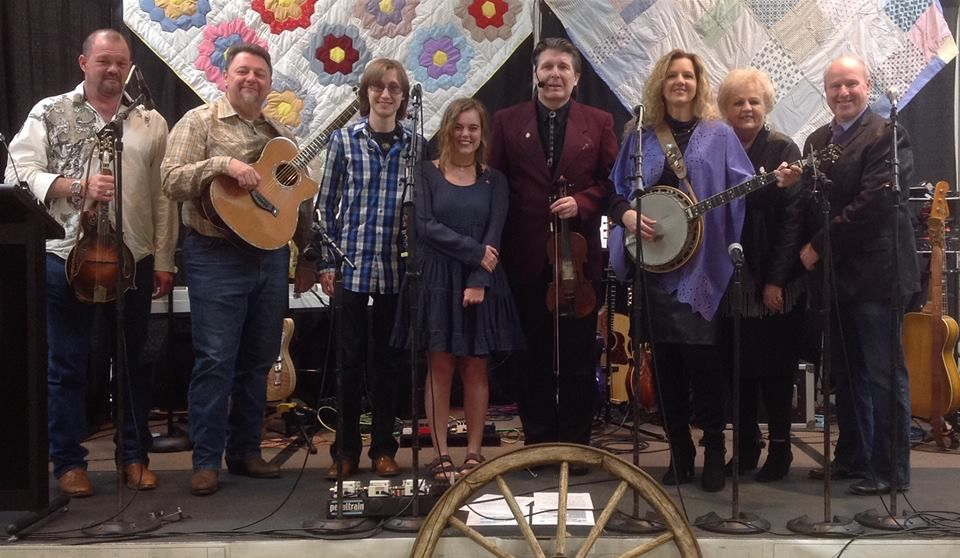 Performers from the Blue Jeans, Bluegrass, and Blueprints Fundraiser