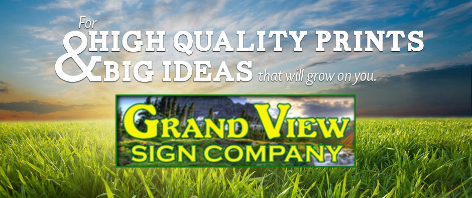 Let's Brainstorm Grand View Signs