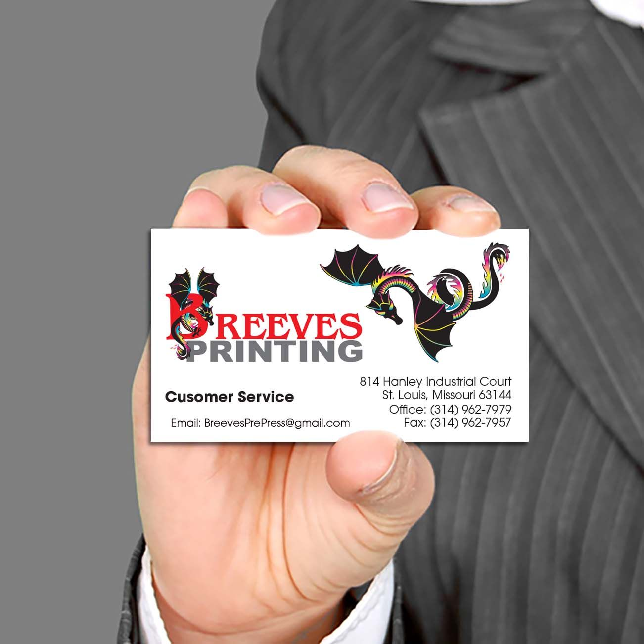 Business Cards/Thermography