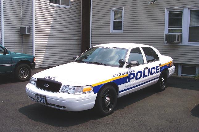 City of White Plains Police Cars
