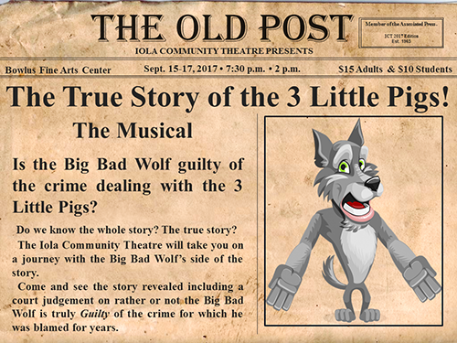 ICT - THE TRUE STORY OF THE 3 LITTLE PIGS