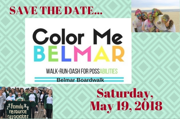 Color Me Belmar Run Walk Dash