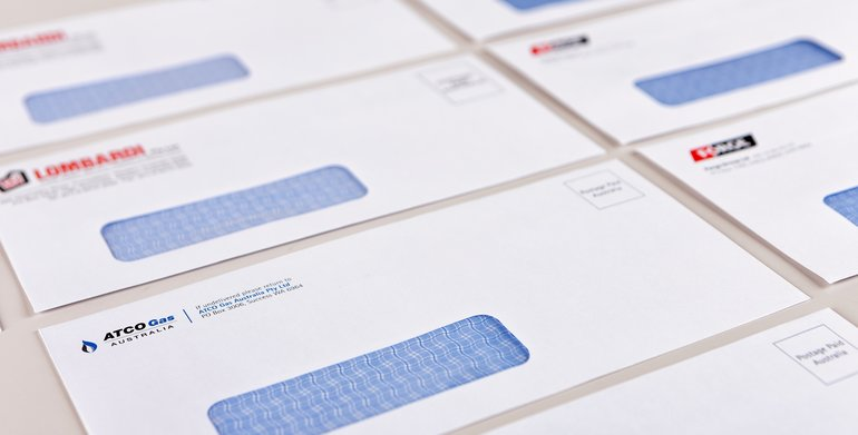 envelope printing design print shop denver c d printing