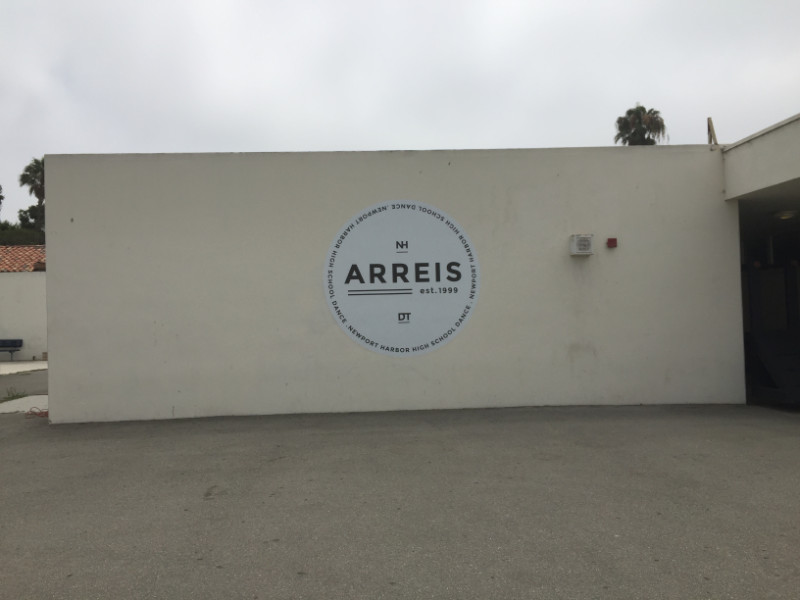 Exterior Wall Graphics for Schools in Orange County CA