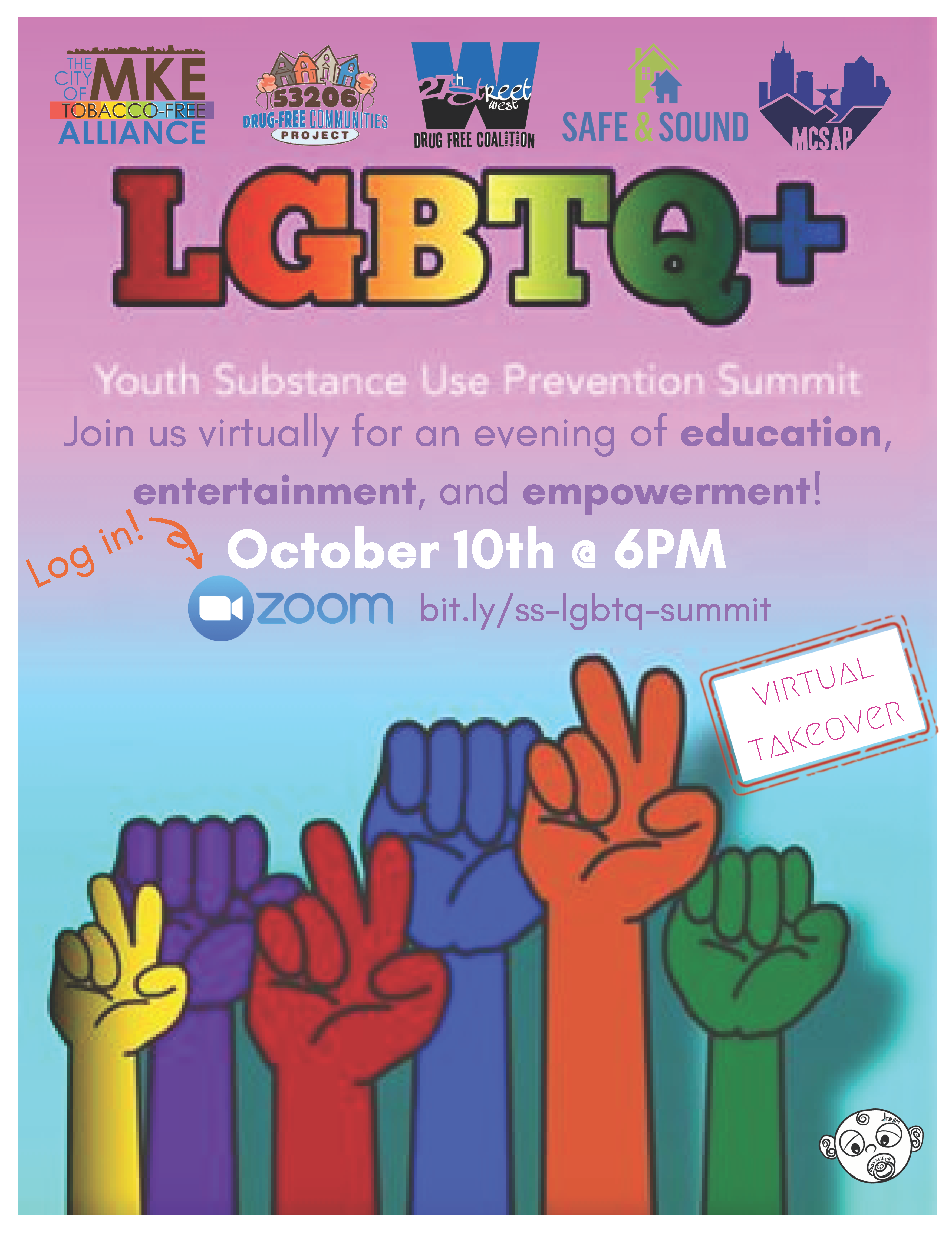 LGBTQ+ Youth Substance Abuse Prevention Summit