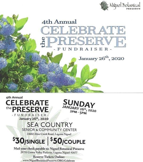 Celebrate the Preserve