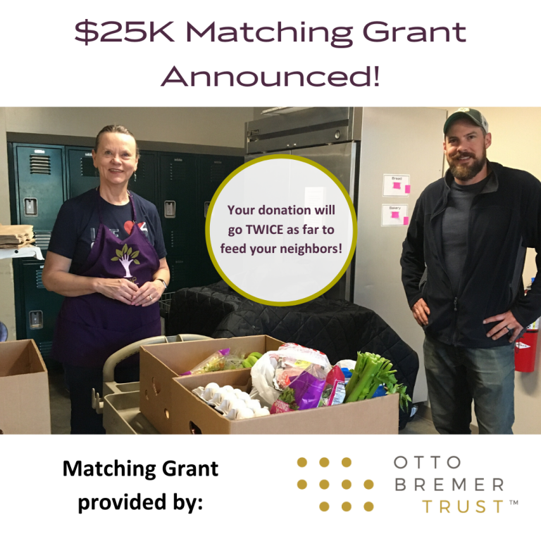 $25,000 Matching Gift Announced!