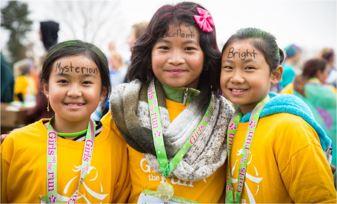 Help Girls Run Happy with GOTR