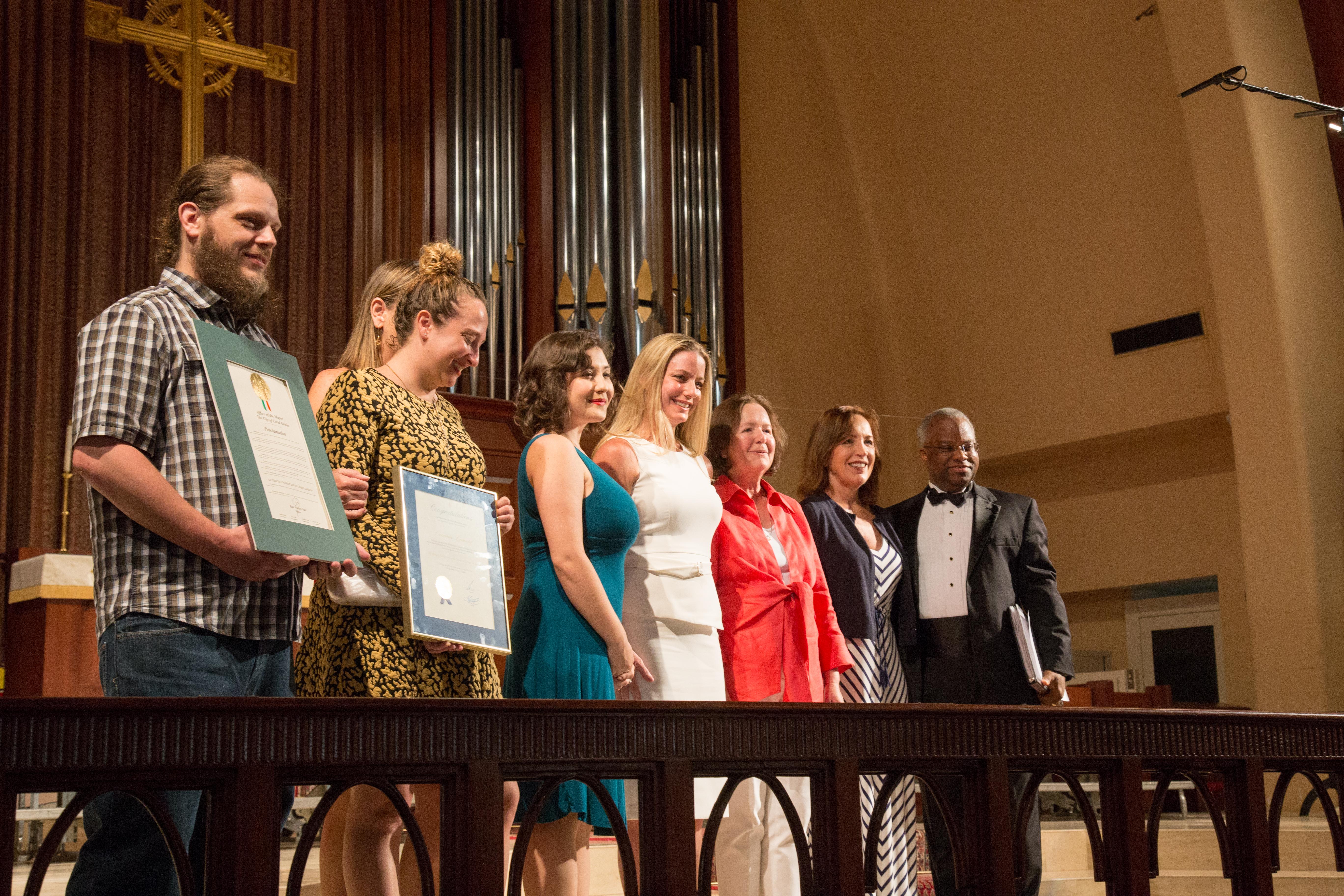 MCC Honors Long-Time Volunteer