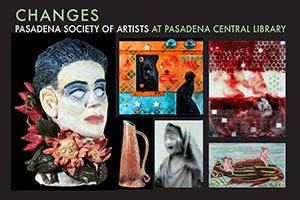 """Pasadena Central Library: Theme """"Changes"""""""