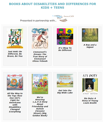 Books on Disabilities & Differences