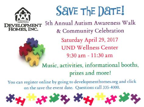 5th Annual Autism Awareness Walk and Community Celebration