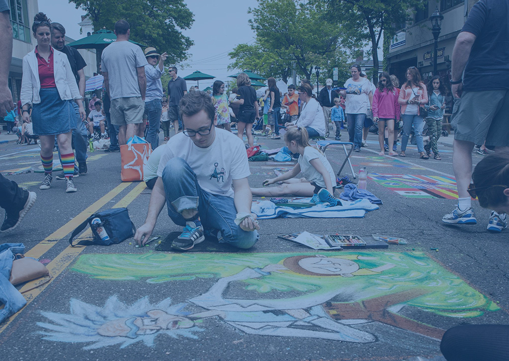 22nd Annual Community Mosaic Street Painting Festival