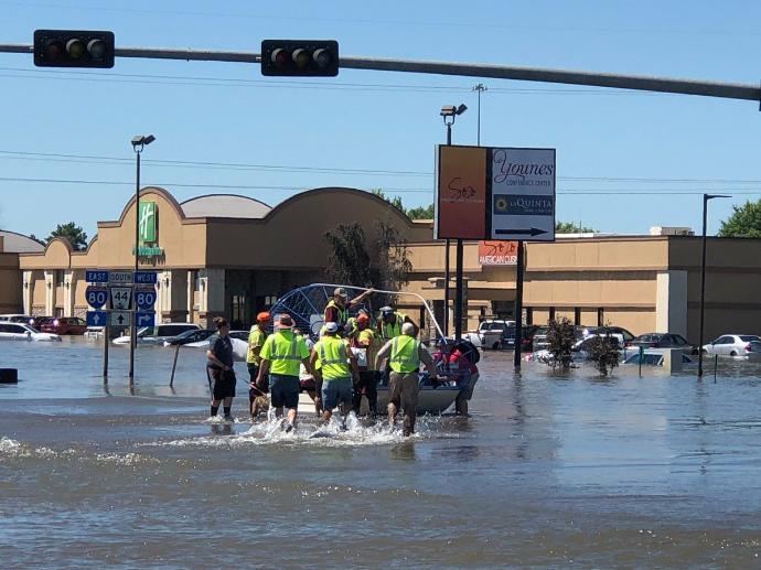 Relief to Nebraska flooding