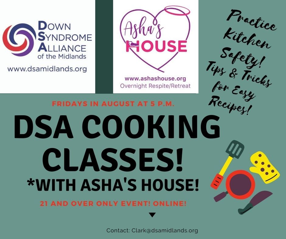 Cooking Classes 21 and up (Online)