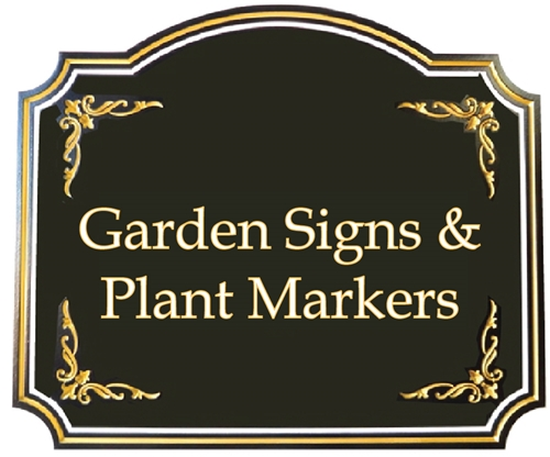 (L) - Garden Signs & Plant Markerts