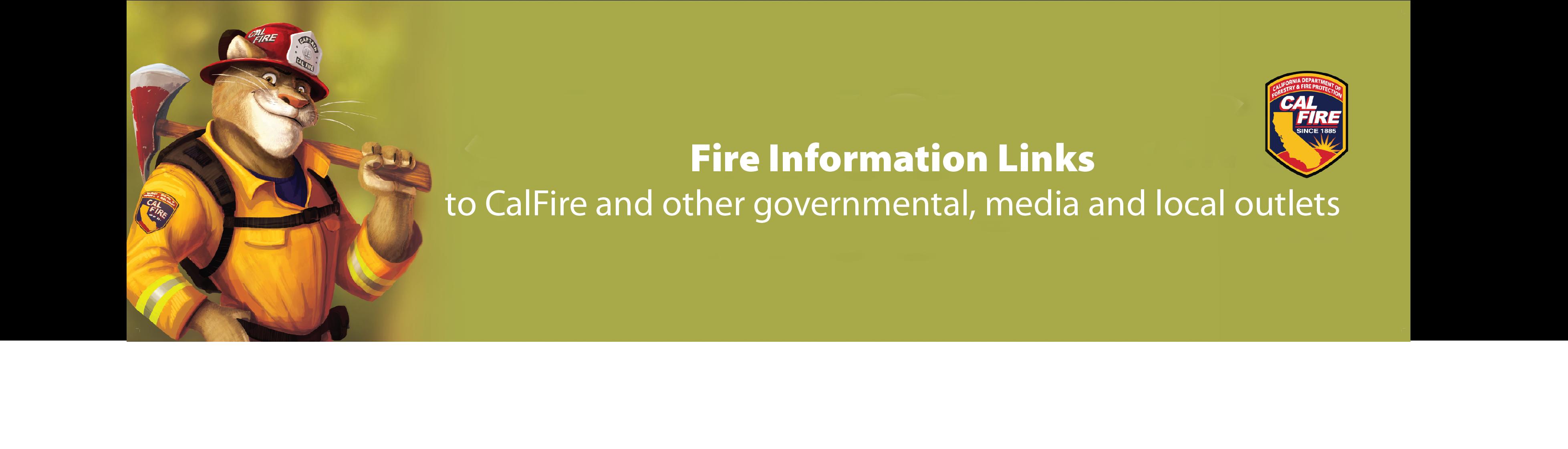 Fire Info Links 2020