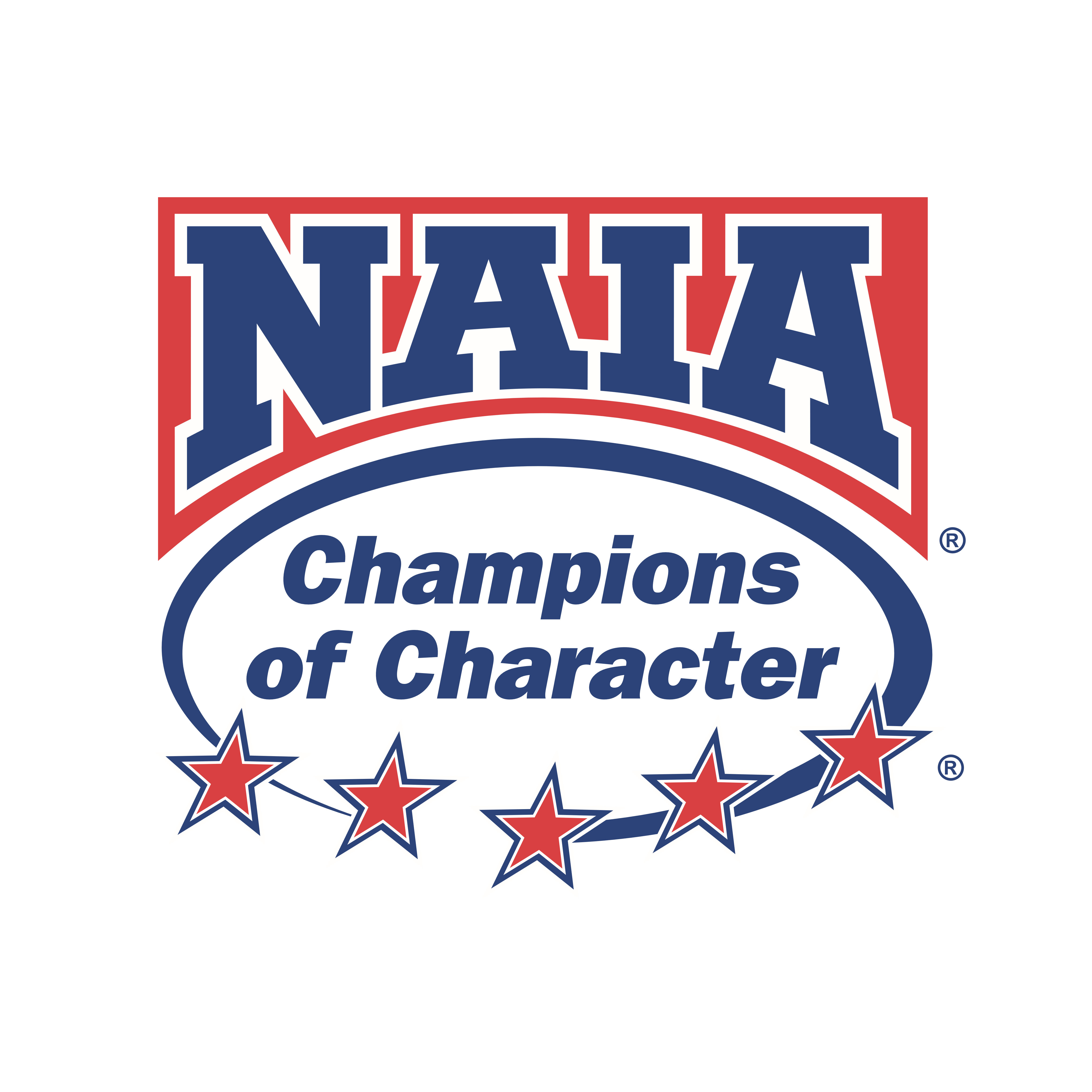 """Outdoor 4' X 4' """"Champions of Character"""" Banner"""