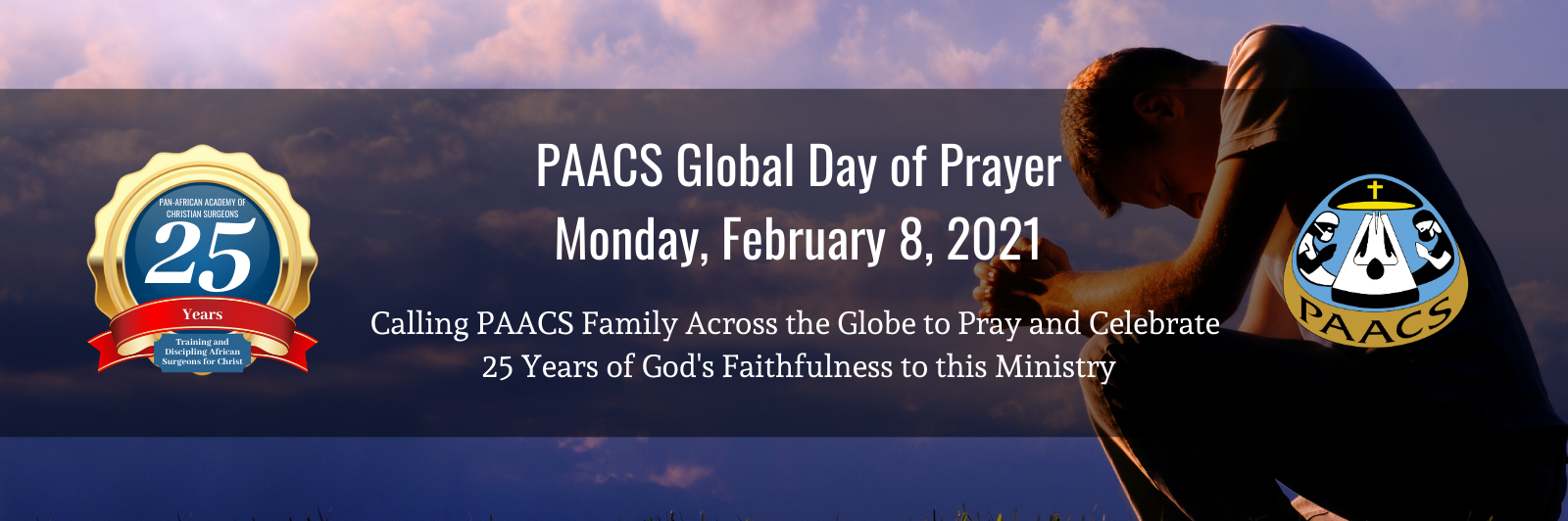 PAACS Global Day of Prayer