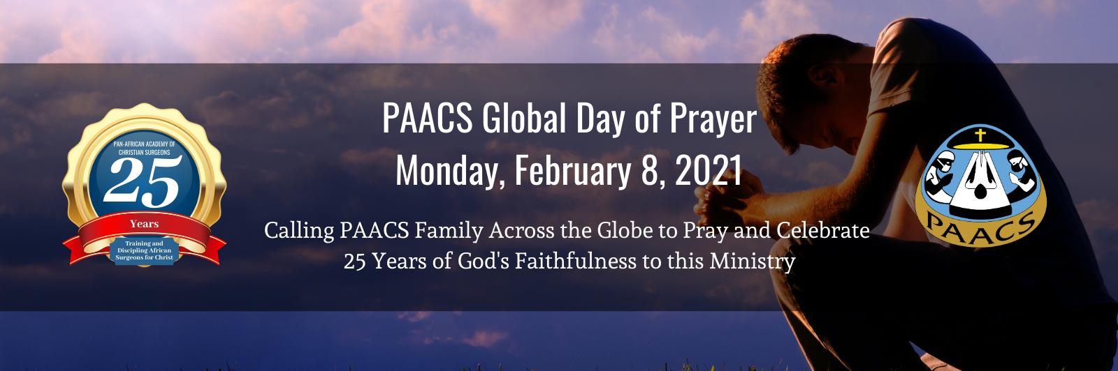 PAACS Global Day of Prayer