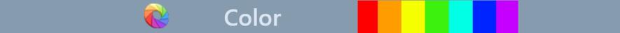 Sharp Catalog Color Bar