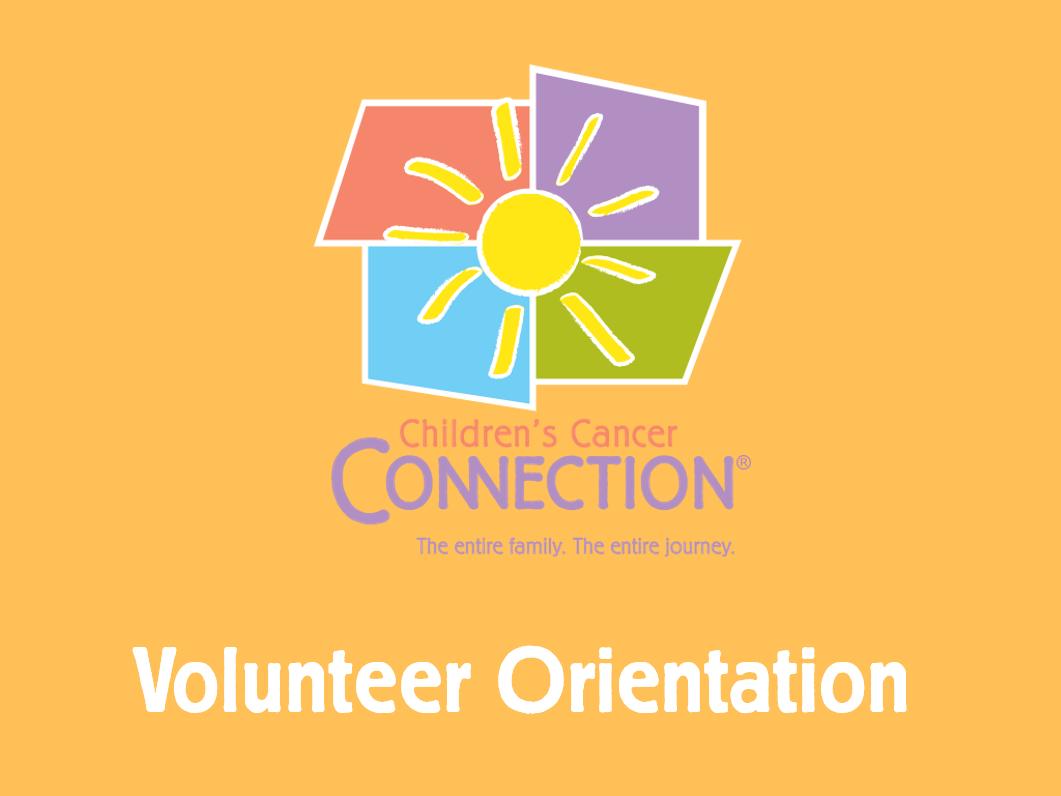 Virtual Volunteer Orientation