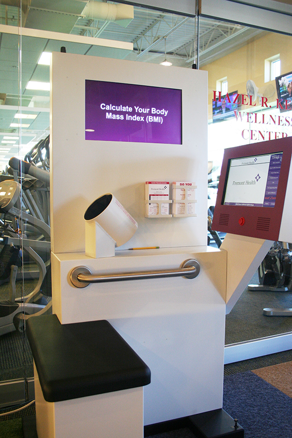 New Blood Pressure Testing Kiosk at YMCA