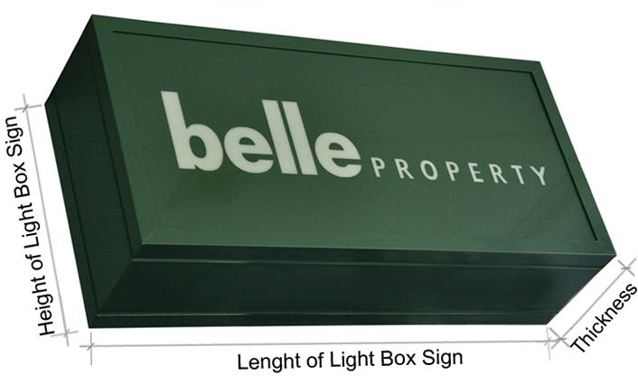 Backlit Signage and Lightbox Insert