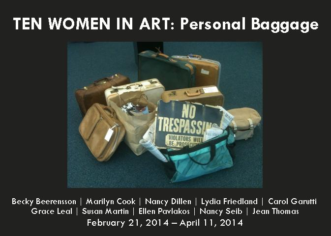 Ten Women in Art: Personal Bagagge