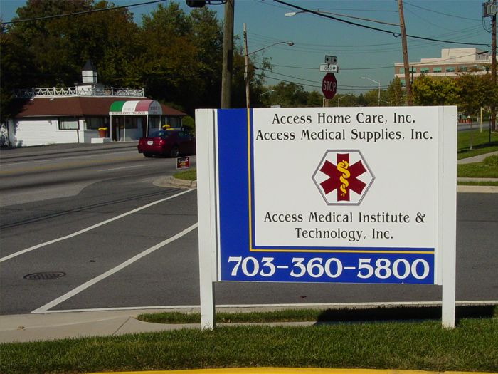 Access Medical Site Sign