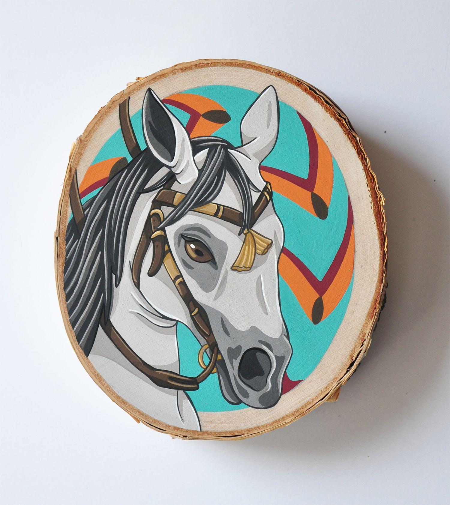 Artist: Sage Cotignola, Gouache on Birch