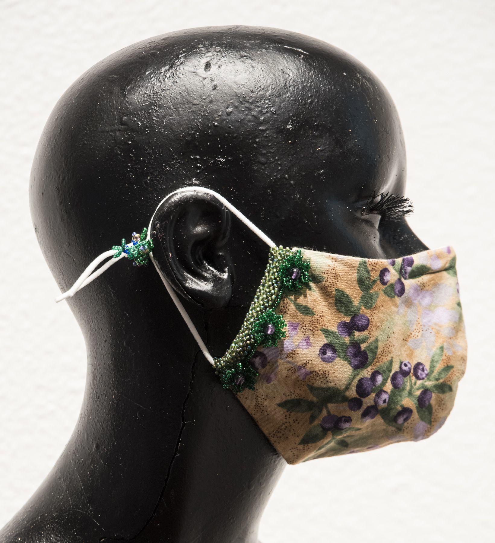 """""""Blueberry Mask"""" - Nancy Tietje"""